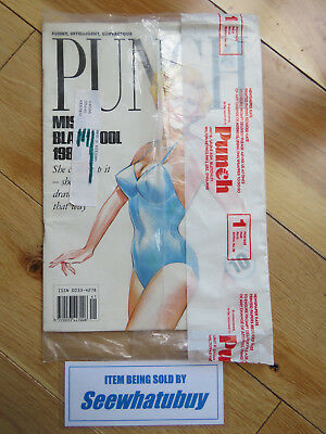 Vintage Punch Magazine - Margaret Thatcher - Sealed