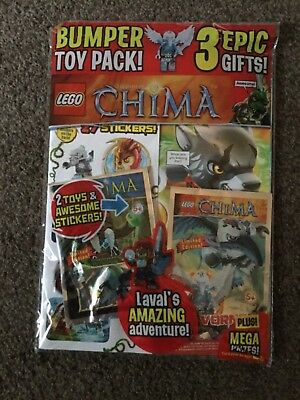 LEGO LEGENDS OF CHIMA MAGAZINE ISSUE 11 bumper toy pack vornon