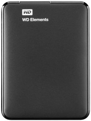 "WD Elements Portable HDD USB3.0  2.0 TB  2.5"" Zoll USB 3.0,  schwarz"