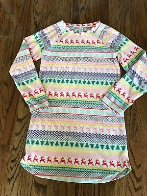 Gap Kids Fleece Night Gown Size 14 Christmas New without Tag