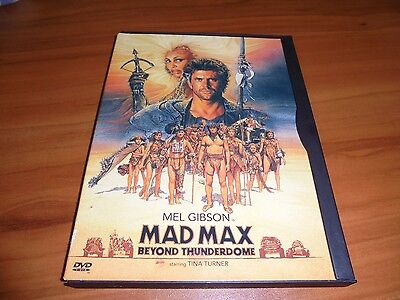 Mad Max Beyond Thunderdome (DVD, Widescreen/Full Frame 1997) Mel Gibson Used