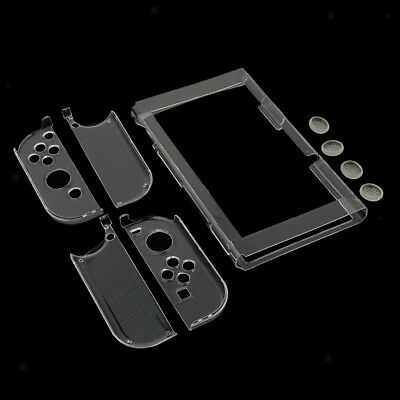 PVC Plastic Clear Shockproof Protective Hard Case Cover for Nintendo Switch