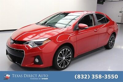 Toyota Corolla S Plus 4dr Sedan CVT Texas Direct Auto 2014 S Plus 4dr Sedan CVT Used 1.8L I4 16V Automatic FWD Sedan