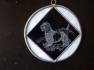 Petit Basset Griffon Vendeen -  Hand engraved Ornament by Ingrid Jonsson.