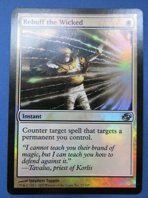 x1 Magic The Gathering MTG Rebuff the Wicked Planar Chaos FOIL NM