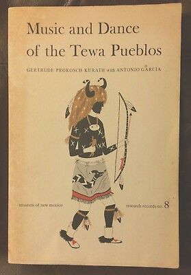 Music And Dance Of The Tewa Pueblos Museum Of New Mexico Press Native American