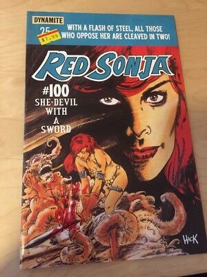 Red Sonja Dynamite #100 48 page special