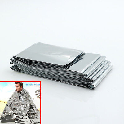Camping waterproof mylar survival rescue blanket foil thermal heat 160*210cm Gut