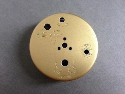 Vintage Europa 2 Jewels Alarm Clock Spares Repairs Parts Parts Back Cover