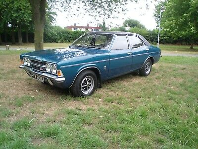 Mk3 Ford Cortina 1600 GXL J reg in Pacific blue