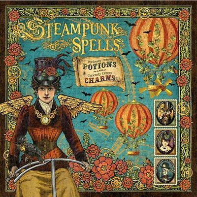 Graphic 45 Steampunk Spells 12x12 Papers- 12 Sheets PLUS Extras RETIRED