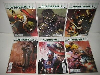 Ultimate Avengers 3rd Series Marvel Comic Book Set Issues 1 2 3 4 5 6