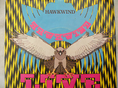 HAWKWIND SHOT DOWN IN THE NIGHT / URBAN GUERILLA bronze 98......45 rpm