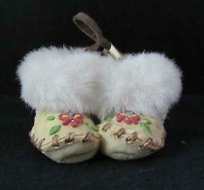 Friends Of The Feather Enesco Moccasins Ornament 1999