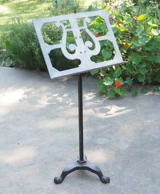 Vintage Cast Iron Music Stand