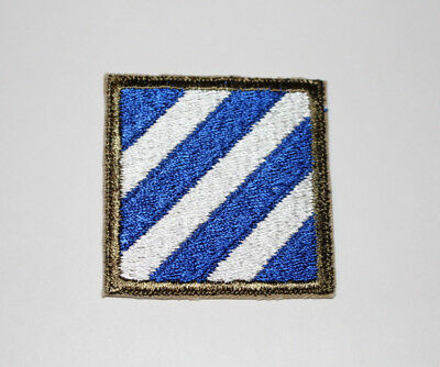 Authentic WWII U.S. Army 3rd Infantry Division Shoulder Insignia Patch