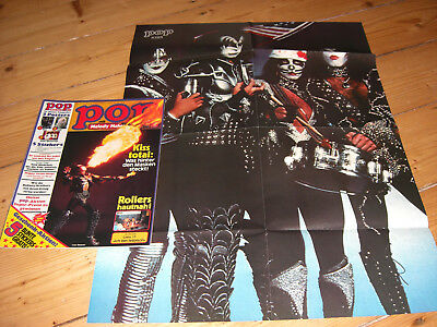 Pop 15/1976 Neu Kiss Silver Convention Poster Uriah Heep Rollers Bellamy Brother