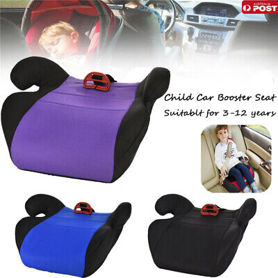 Car Booster Seat Baby Car Seat Mat Toddler Kid Children Purple Fit 3 To 12 Years