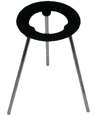"""9 Inch Tall Cast Iron Support Stand w/5"""" Diameter Ring"""