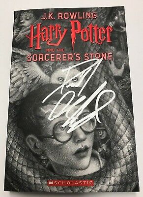 Harry Potter and the Sorcerer's Stone Book Signed by Daniel Radcliffe- 1st Print