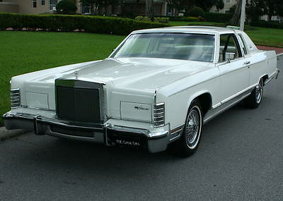 1979 Lincoln Town Car COUPE - TWO OWNER - 49K MI RARE COLOR COMBO - LOW MILE SURVIVOR  1979 Lincoln Town Coupe -  49K ORIG MI