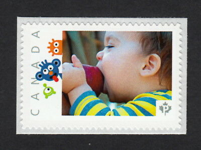 BOY WITH AN APPLE Custom/personalized Postage stamp MNH Canada 2015 [p15/10sn12]