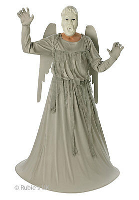 Nwt Uk Authentic Bbc Doctor Dr Who Rubies Weeping Angel Monster Costume Adult Xl