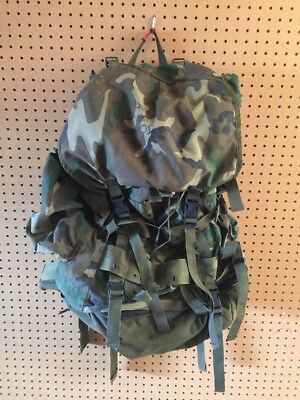US Military Field Pack Large w/Internal Frame DJ Manufacturing 1991