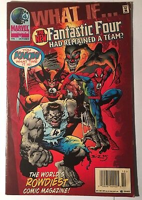 Marvel Comics What If? The New Fantastic Four Had Remained A Team #78 1995 Fn+