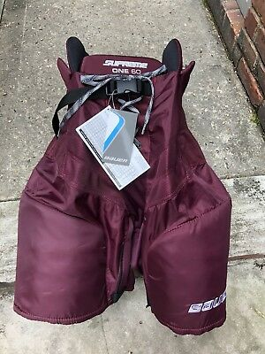 Bauer Supreme One60 Men's Medium Maroon Pants New With Tags CCM