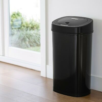 TRASH CANS FOR Kitchen Garbage Can With Lid Automatic ...