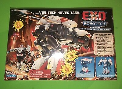 Exo Squad Robotech Veritech Hover Tank by Playmates Harmony Gold! NEW SEALED!