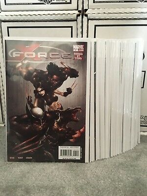 X-Force 2008 Series Complete Run 1-28 + Annual + One Shots VF/NM