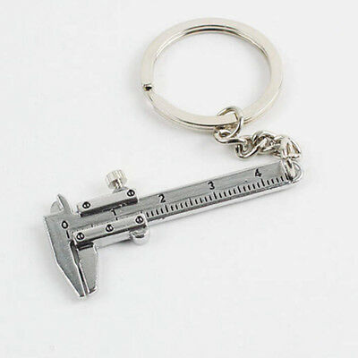 FASHION METAL 3D Movable Vernier Caliper Model Key Ring