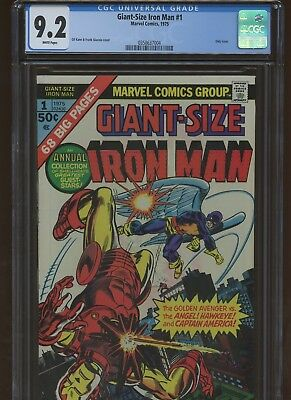 Giant-Size Iron Man 1 CGC 9.2 | Marvel 1975 | Only Issue.