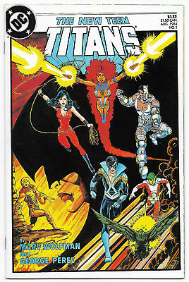 New Teen Titans #1 (Aug 1984, DC Comics) Great Perez Cover 2nd Series Starts