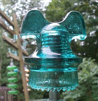 MIGHTY Fine MICKEY MOUSE Glass POWER Distribution Insulator