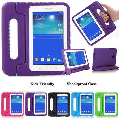 AU For Samsung Galaxy Tab A 8.0 SM-T350 Tablet Kids Handle Shockproof Cover Case