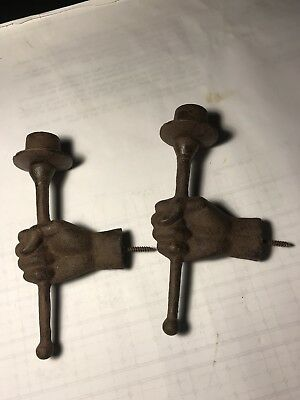 Heavy Iron Candle Sconses