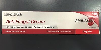 CHEAPEST APOHEALTH ANTI-FUNGAL CREAM 50G, generic for Canesten cream