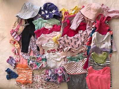 Baby Girl Bulk Clothing (All Size 00) Assorted brands in good condition