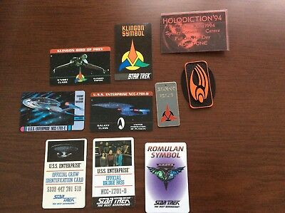 Star Trek --- Collectable Cards & Metal Disc