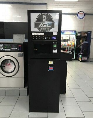 Hot and Cold Coffee Powder Vending Machine with Coin Acceptor (NO BILL ACCEPTOR)