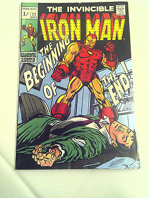 Iron Man  #17  VF