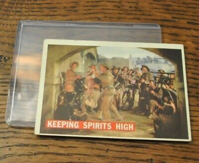 Topps Walt Disney Davy Crockett #63 1956 Keeping Spirits High