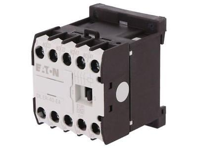 DILER-40-230AC-E Contactor4-pole 230VAC 6A NO x4 DIN, on panel Series