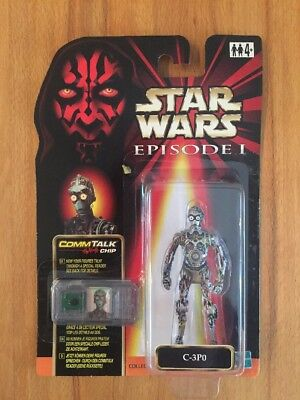 STAR WARS - Episode 1 - C-3PO - Hasbro - MOC - 1999