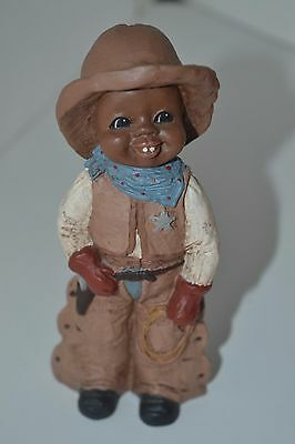 All God's Children Figurine Black Americana Holcombe Eli #92