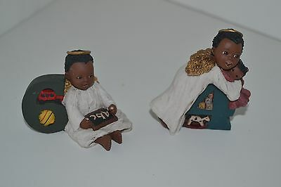 All God's Children Figurine Black Americana Holcombe Theo Taci Age 6 4