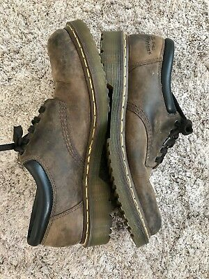 Dr. Martens AirWair The Original 8053 Brown Leather Shoe Sz US 13 M England